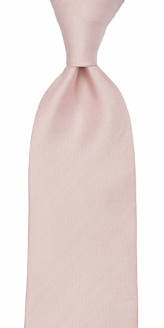 SOLID Dusty pink corbata